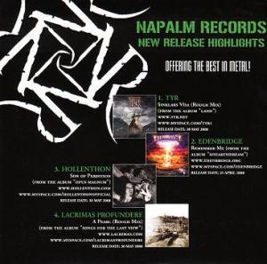 Napalm Records New Release Highlights - Cover