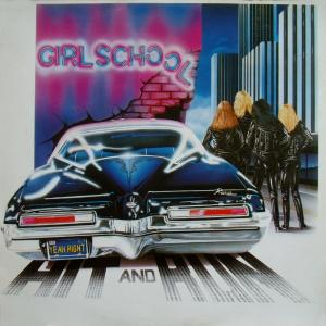 Girlschool: Hit And Run - Cover