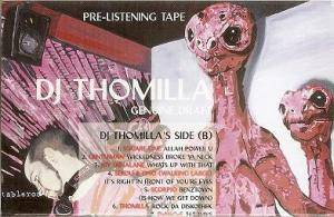 Cover - DJ Thomilla: DJ Thomilla - Genuine Draft