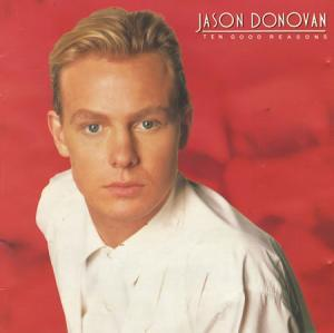 Jason Donovan: Ten Good Reasons - Cover