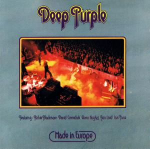 Deep Purple: Made In Europe - Cover