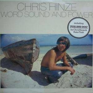 Chris Hinze: Word Sound And Power - Cover