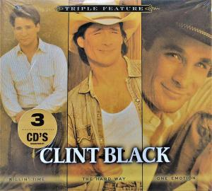 Clint Black: Killin' Time / The Hard Way / One Emotion - Cover