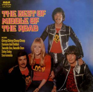 Middle Of The Road: Best Of Middle Of The Road, The - Cover