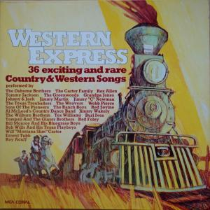 Western Express (36 Exciting And Rare Country & Western Songs) - Cover