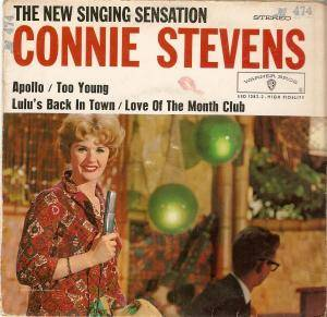 Cover - Connie Stevens: New Singing Sensation, The