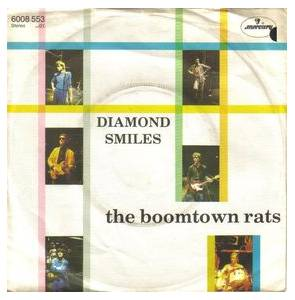 The Boomtown Rats: Diamond Smiles - Cover