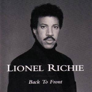 Lionel Richie: Back To Front - Cover