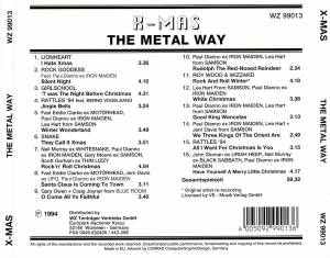 X-Mas: The Metal Way (CD) - Bild 2