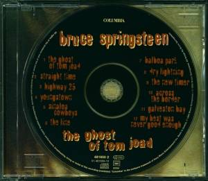 Bruce Springsteen: The Ghost Of Tom Joad (CD) - Bild 5