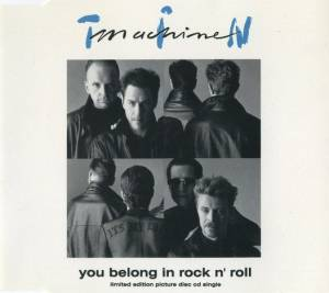 Cover - Tin Machine: You Belong In Rock N' Roll