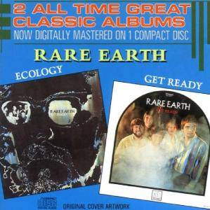 Rare Earth: Get Ready / Ecology - Cover