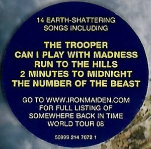 Iron Maiden: Somewhere Back In Time - The Best Of: 1980-1989 (CD) - Bild 7