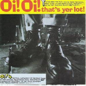 Oi! Oi! That's Yer Lot! - Cover