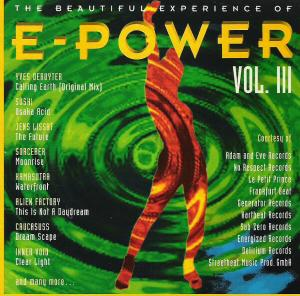 Beautiful Experience Of E-Power Vol. III, The - Cover