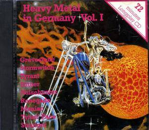Heavy Metal In Germany Vol. I - Cover