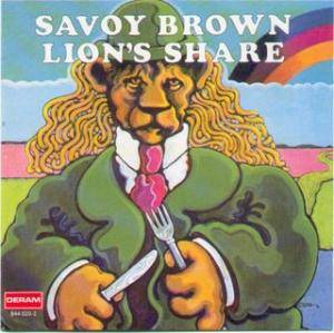 Savoy Brown: Lion's Share - Cover