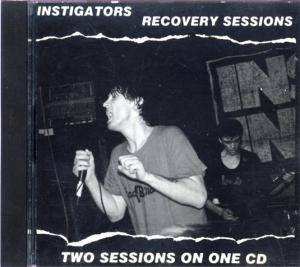 Cover - Instigators: Recovery Sessions