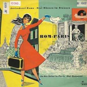 Cover - Lawrence Winters: Rom - Paris