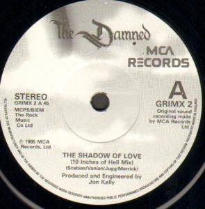 "The Damned: The Shadow Of Love (10"") - Bild 2"