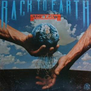 Rare Earth: Back To Earth - Cover