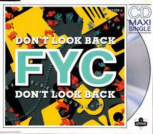 Fine Young Cannibals: Don't Look Back - Cover