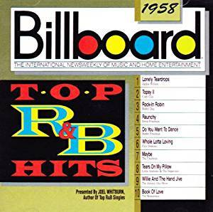 Cover - Cozy Cole: Billboard - Top R&B Hits - 1958