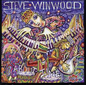 Steve Winwood: About Time - Cover