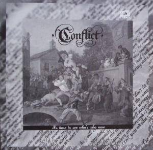 Conflict: It's Time To See Who's Who Now - Cover