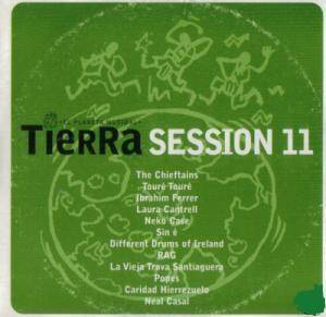 Cover - Different Drums Of Ireland: Tierra Sessions 11