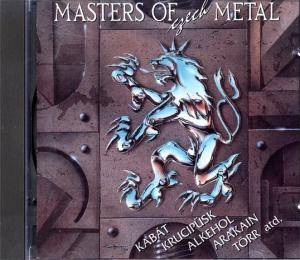 Masters Of Czech Metal - Cover