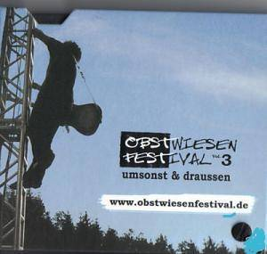 Cover - Departure, The: Obstwiesenfestival umsonst & draussen Vol. 3