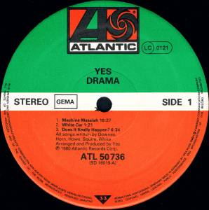 Yes: Drama (LP) - Bild 4
