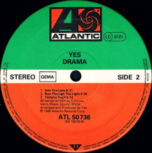Yes: Drama (LP) - Bild 5
