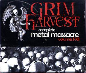 Grim Harvest - Complete Metal Massacre Volumes I-XII - Cover