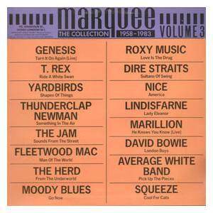 Marquee - The Collection 1958-1983 - Vol. 3 - Cover
