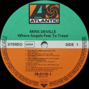 Mink DeVille: Where Angels Fear To Tread (LP) - Bild 5