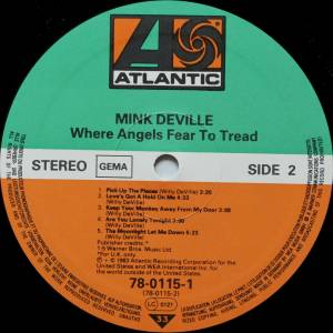 Mink DeVille: Where Angels Fear To Tread (LP) - Bild 6