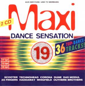 Cover - Cherry Coke: Maxi Dance Sensation 19