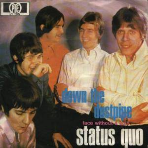 Status Quo: Down The Dustpipe - Cover