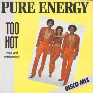 Cover - Pure Energy: Too Hot