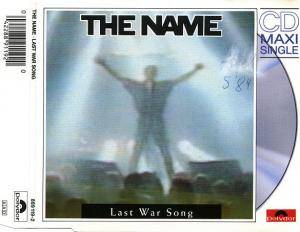 Cover - Name, The: Last War Song