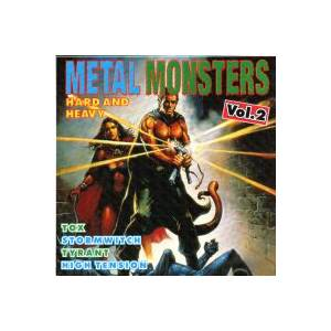 Metal Monsters - Hard And Heavy Vol. 2 - Cover