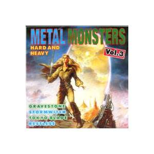 Metal Monsters - Hard And Heavy Vol. 3 - Cover