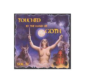 Cover - Ivoux: Touched By The Hand Of Goth Vol. IV