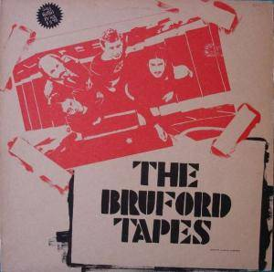 Bill Bruford: Bruford Tapes, The - Cover
