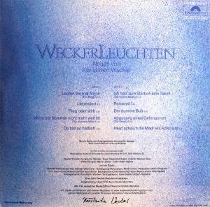 Konstantin Wecker: Weckerleuchten (LP) - Bild 2