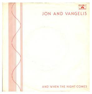 Cover - Jon & Vangelis: And When The Night Comes