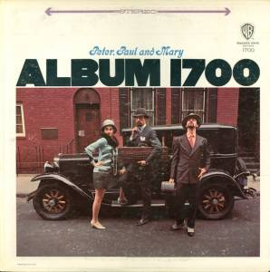 Peter, Paul And Mary: Album 1700 - Cover