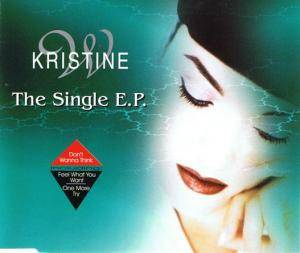 Cover - Kristine W: Single E.P., The